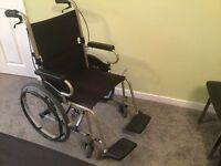 Wheel chair - foldable by Karma