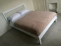 White Bed Frame - Double