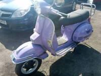 Lml vespa piaggio scooter 125