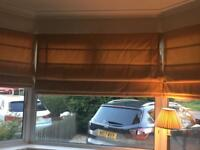 Roman blinds in fabric by John Lewis