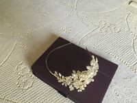 Stunning Bridal Side Tiara New without Tags