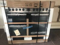 *brand new in box 7 burner range cooker. Surplus to requirements. Beko. Stainless steel