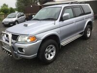 2096 Mitsubishi shogun 2.5 diesel sport great condition full leather cookstown