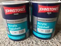 Acrylic eggshell paint
