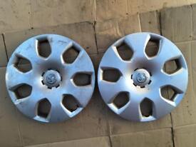 """Astra J 16"""" wheel trims x2 13267803aabb"""