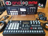 Elektron Analog Rytm + Cover and Cables