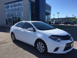 2015 Toyota Corolla LE, Cloth,B.tooth,RevCam,2nd Set/snows