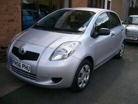 TOYOTA YARIS Ion. One Owner. Full Service History. 71755 Miles. 996cc. Petrol. Manual.