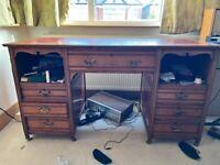 Antique powder desk