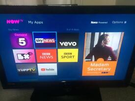 "40"" Full HD FREEVIEW, 3xhdmi,USB TV - Collection derby"