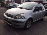 2005 TOYOTA YARIS 3DOORS-T3-1.3D4D-DIESEL,£30 PER YEAR ROAD TAX,MOT 23-06-2017-CAN GIVE 12 MONTHS