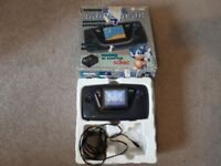 Sega Game Gear Fully working and boxed + Sonic The Hedgehog One month warranty