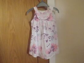 Next Flower Dress 12-18 Months