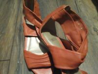 Ladies wedge sandals by Faith. NEW
