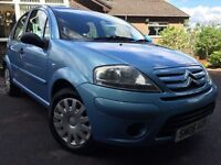*IMMCULATE*12 MONTHS WARRANTY*2006(06)CITREON C3 1.3(75BHP)DESIRE 5DR HATCH WITH ONLY 61,000 MILES*