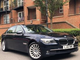 2012 BMW 7 SERIES 730d SE LWB *VERY HIGH SPEC* 108K /IMMACULATE IN AND OUT