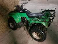 Kawasaki klf220 quad bike suit farm stables etc