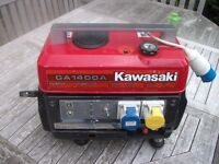Generator Kawasaki GA1400A Portable Suitcase Generator
