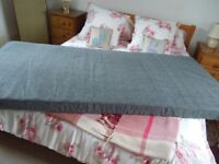 Matress Single Ikea In Grey Used For Two Nights Only Perfect Condition Removable Cover