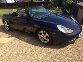 Immaculate 98 Boxter. Porsche Boxter inspired personalised plate included.