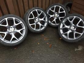 "Vauxhall Alloy Wheels. VXR 20"" Alloys"