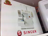 Brand new Singer overlocker sewing machine