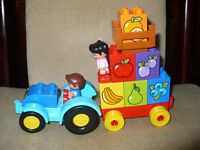Lego Duplo My First Tractor with 2 figures 10615, complete. Very good condition! No box.