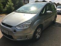 Ford S Max diesel manual 12 months mot and full service history and full glass pan roof