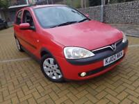 Vauxhall Corsa 1.2 i 16v Club 5dr LOW LOW MILES+NEW MOT+POWER STEERING CALL 07709297381