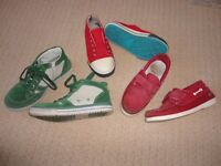 Boden - 3 pairs boys shoes