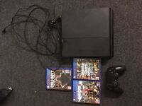 Playstation 4 & 3 games (Controller and Cables Included)