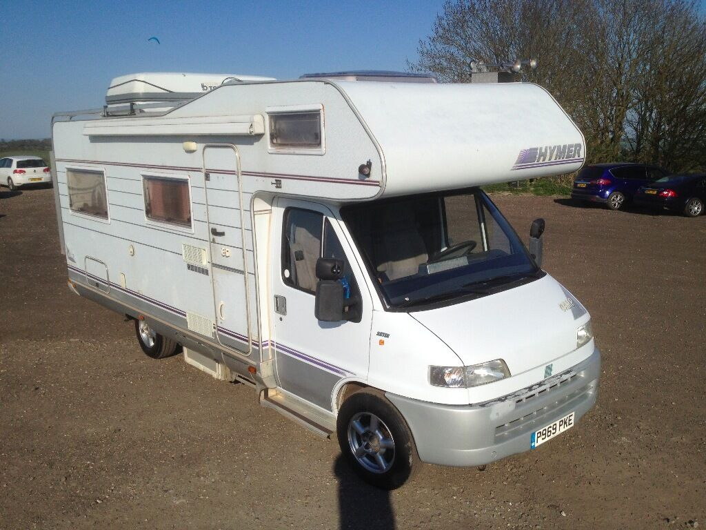 6 berth hymer camp camper van 1996 fiat ducato 2 5td. Black Bedroom Furniture Sets. Home Design Ideas