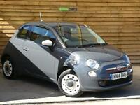 Fiat 500 1.2 Colour Therapy 3dr VERY LOW MILEAGE (tech house grey) 2014