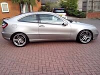 2004 MERCEDES C220 CDI COUPE AUTOMATIC