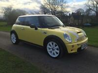 *BEAUTIFUL MINI COOPER S*TOP SPEC*SAT NAV/XNEONS/LEATHER*