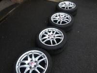 Honda integra dc5 type r alloy wheels also fit ep3 civic