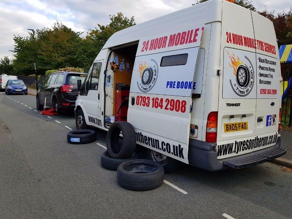 24hour mobile tyre emergency fitting service flat tyres puncture services breakdown recovery London