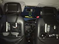 Ford car seats with TVs