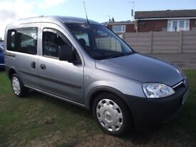 2009 Vauxhall Combo 1.4 ECO WAV Wheelchair access car 16k miles from new FDSH
