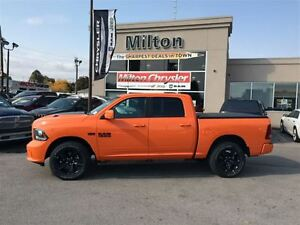 2017 Ram 1500 IGNITION ORANGE CREW CAB SPORT