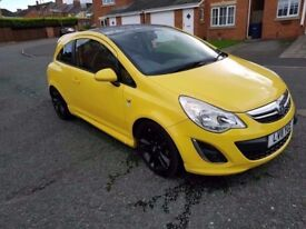 2011 vauxhall corsa 1.2 limited edition only 49000 miles stunning car fsh