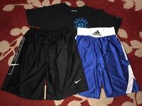 Men's Nike Shorts XL Men's Adidas Shorts L Men's Adidas Tshirt L/XL
