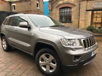 JEEP GRAND CHEROKEE 3.0 V6 CRD LIMITED**FULL-SH**FULL MOT**HPI CLEAR**