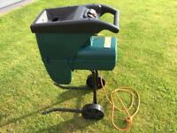 Garden Shredder, electric good condition.