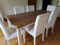 Farmhouse Table with two extension leafs