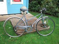 Vintage Ladies Raleigh Rhapsody 5 Speed Sports Bicycle Bike Cycle