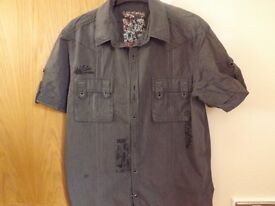 Next Shirt Size L Slimmer Fit