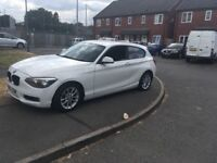 bmw 1.6 d white ideal for 1st car