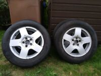 For sale alloy wheels