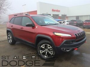 2015 Jeep Cherokee TRAILHAWK | 4X4 | ACCIDENT FREE | BACKUP CAM